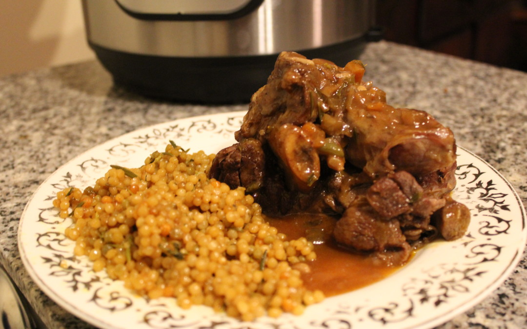 YouTube Episode 4: Red Wine Braised Lamb Shanks in the Instant Pot Pressure Cooker